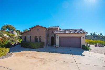 Escondido Single Family Home For Sale: 29472 Welk Highland Dr