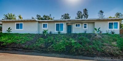 Vista Single Family Home For Sale: 1729 Kent Pl