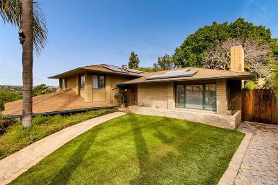 Bonita Single Family Home For Sale: Bonita View Drive