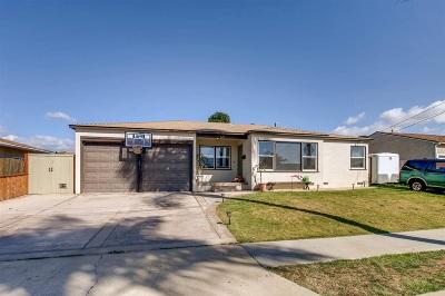 Chula Vista CA Single Family Home For Sale: $469,900