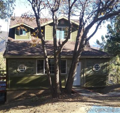 Julian CA Single Family Home For Sale: $315,000