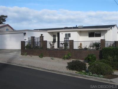 San Diego Single Family Home For Sale: 2053 Redbird Dr