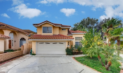 Escondido Single Family Home For Sale: 2141 Pleasantwood Ln