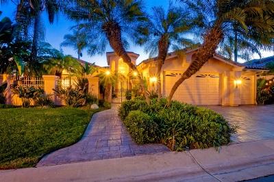 Rancho Santa Fe Single Family Home For Sale: 15595 Churchill Downs
