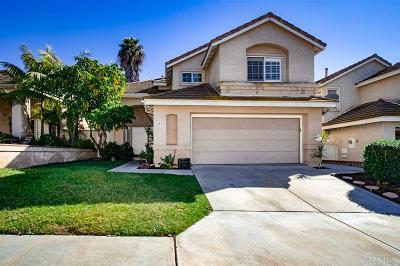Chula Vista CA Single Family Home For Sale: $629,900