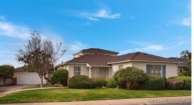San Diego CA Single Family Home For Sale: $739,000