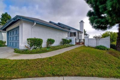 Chula Vista CA Single Family Home For Sale: $449,000