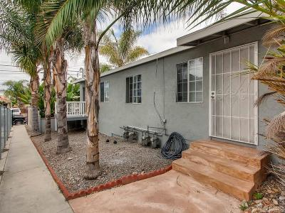 San Diego CA Multi Family 2-4 For Sale: $805,000