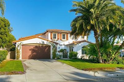 Carlsbad Single Family Home For Sale: 2968 Rancho Brasado