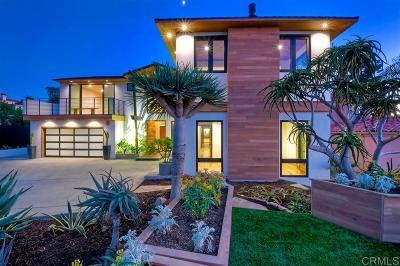 Encinitas CA Single Family Home For Sale: $3,595,000