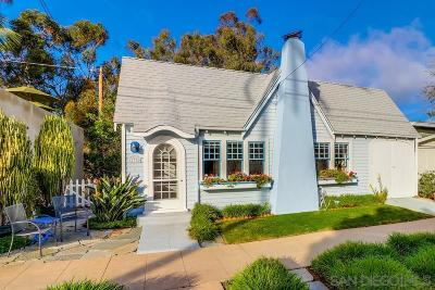 San Diego CA Single Family Home For Sale: $825,000
