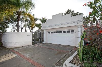 San Diego Single Family Home For Sale: 2823 Vancouver Avenue