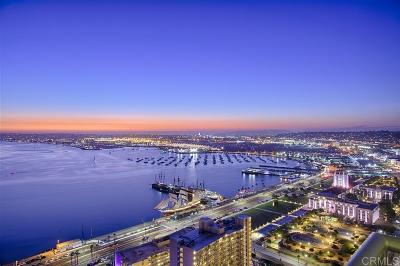 San Diego Attached For Sale: 1205 Pacific Hwy #3501