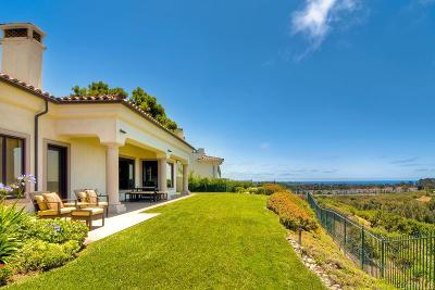 Carlsbad Single Family Home For Sale: 7101 Aviara Drive