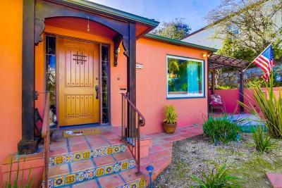 Single Family Home For Sale: 4243 Niagara Avenue