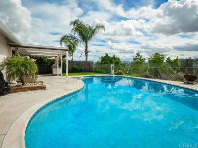 Santee Single Family Home For Sale: 10462 Santana St