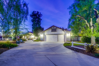 Poway Single Family Home For Sale: 14004 Painted Desert Rd