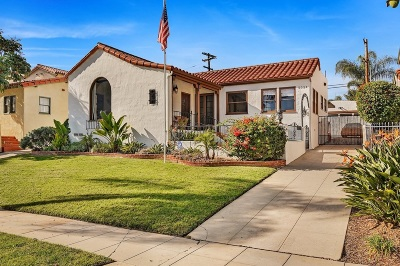 San Diego CA Single Family Home For Sale: $1,994,000