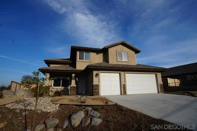 Santee Single Family Home For Sale: 8535 Even Seth Cir