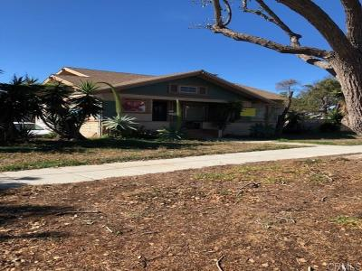 Oceanside Single Family Home For Sale: 405 S. Tremont Street