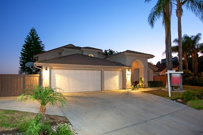 el cajon Single Family Home For Sale: 2022 Chardon Ln