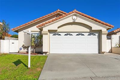 San Marcos Single Family Home Sold: 1126 Calle Emparrado