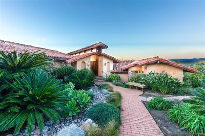 Poway Single Family Home For Sale: 16310 Orchard Bend Rd