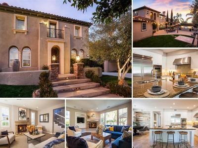 La Costa Oaks Single Family Home For Sale: 7337 Corte Brisa