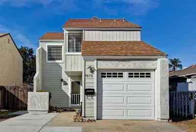 San Diego Single Family Home For Sale: 9870 Paseo Montalban