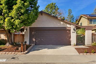 Escondido Single Family Home For Sale: 2265 Village Rd