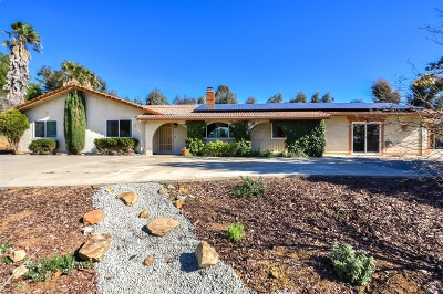 San Diego County Single Family Home For Sale: 1821 Davis Dr.