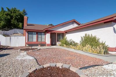 San Diego Single Family Home For Sale: 7404 Deep Dell Cv