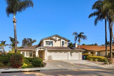 Oceanside Single Family Home Back On Market: 908 Sagewood Dr
