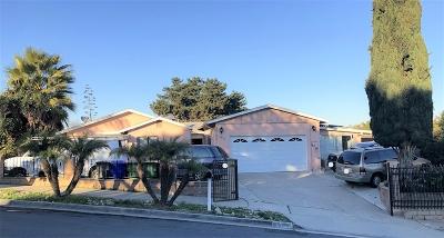 Oceanside Single Family Home Back On Market: 5094 Barry St.