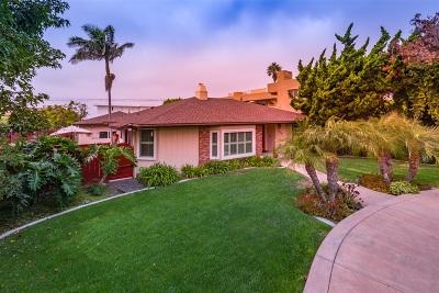 La Jolla Single Family Home For Sale: 8552 La Jolla Shores Dr