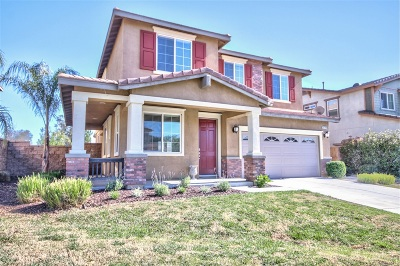 Riverside County Single Family Home For Sale: 30742 Alston