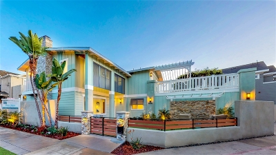 Coronado Single Family Home For Sale: 624 10th St