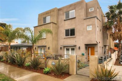 Pacific Beach, Pacific Beach Sail Bay, Pacific Beach, North Pacific Beach, Pacific Beach/Crown Point Townhouse For Sale: 1327 Felspar Street