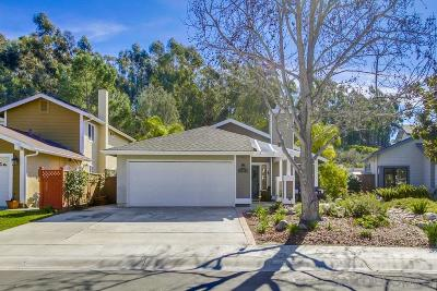 San Diego Single Family Home Pending: 12085 Eastglen