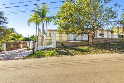 Escondido Single Family Home For Sale: 1971 Bernardo Ave
