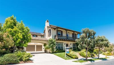 La Costa Ridge Single Family Home For Sale: 3212 Corte Tamarindo
