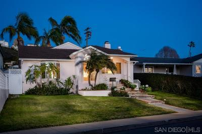 La Jolla Single Family Home For Sale: 5733 Beaumont Avenue