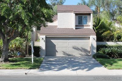 Tierrasanta Single Family Home For Sale: 10752 Portobelo