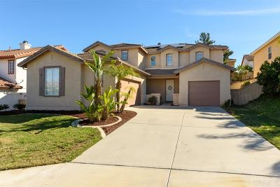 San Marcos Single Family Home Sold: 731 Via Cafetal