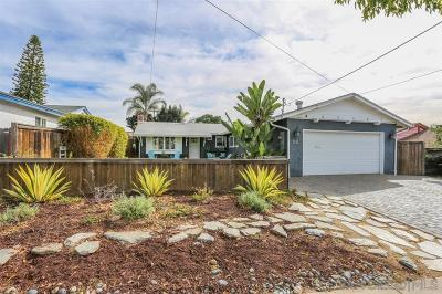Clairemont, Clairemont East, Clairemont Mesa, Clairemont Mesa East Single Family Home For Sale: 4321 Mount Foster