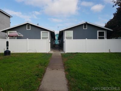 South Park, Golden Hill Multi Family 2-4 For Sale: 3370-3376 B Street