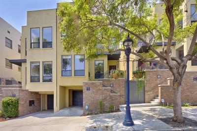 Down Town, Downtown, Downtown San Diego/East Village Townhouse For Sale: 1520 10th Ave
