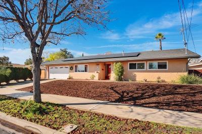 Santee Single Family Home For Sale: 9350 Burning Tree Way