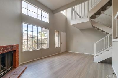 Townhouse For Sale: 8767 Spring Canyon Dr