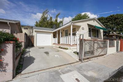 North Park, North Park - Morley Field, North Park Bordering South Park, North Park, Kenningston, North Park/City Heights, Northpark Single Family Home For Sale: 3584 Polk Avenue